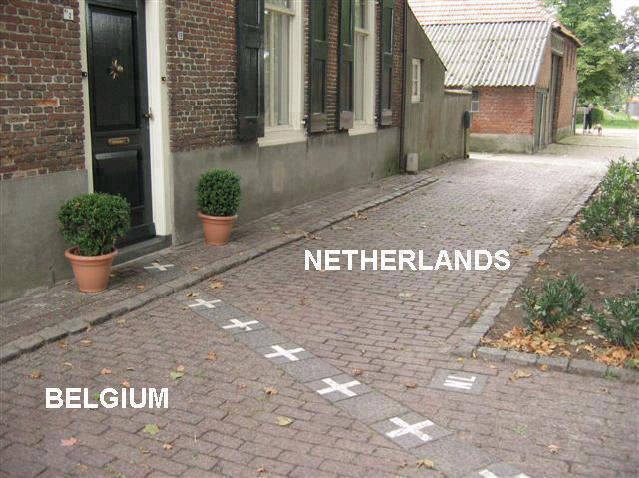 Граница между Нидерландами и Бельгией (639x478, 59Kb)