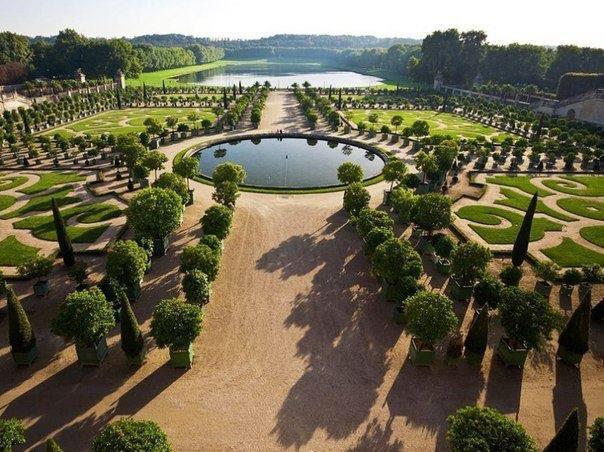 Сады Версаля, Франция (604x452, 69Kb)