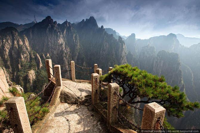 горы хуаньшань китай фото (670x446, 72Kb)