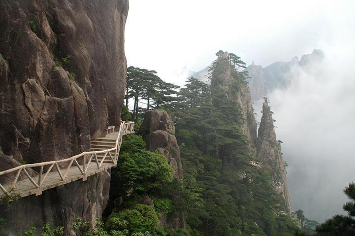 горы хуаньшань китай фото 10 (700x465, 49Kb)