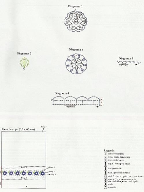 Красивая обвязка крючком (27) (499x666, 69Kb)