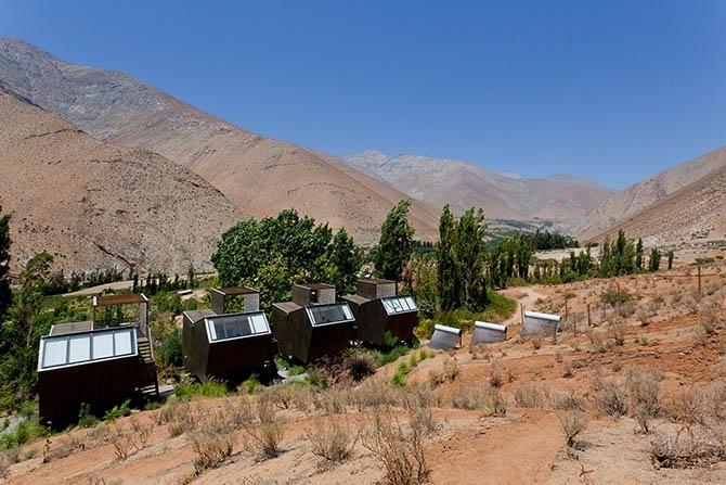 астрономический отель Elqui Domos в чили 1 (670x447, 210Kb)