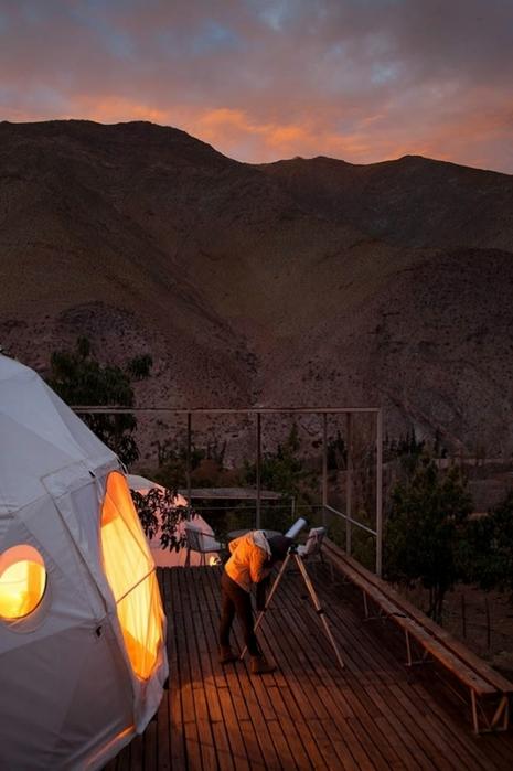 астрономический отель Elqui Domos в чили 3 (465x700, 202Kb)