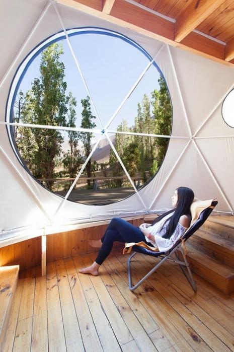 астрономический отель Elqui Domos в чили 7 (465x700, 245Kb)