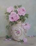 Превью early rose blooms painting (443x560, 49Kb)