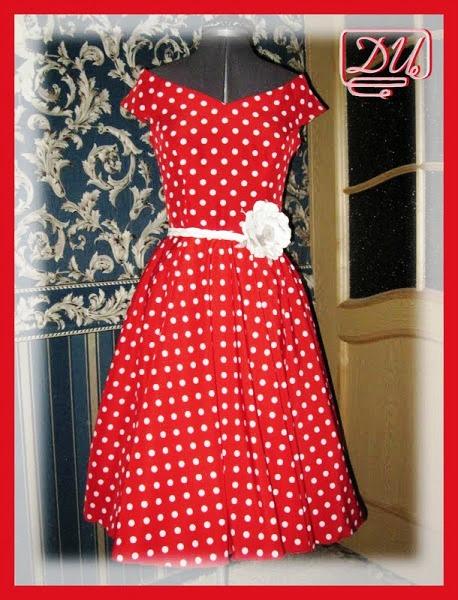 Платье 60-х своими руками