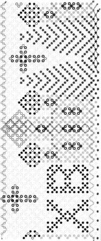 Подборка схем для оплетения пасхальных яиц.  Бисероплетение к Пасхе Схемы оплетения яиц.  Прочитать целикомВ.