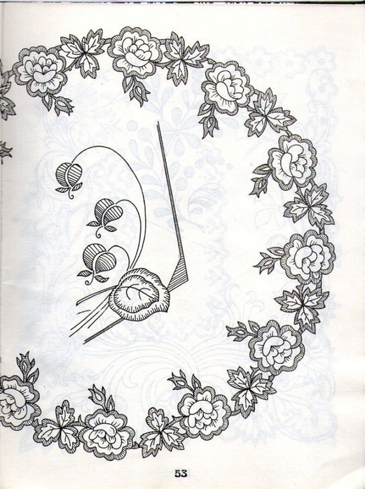 вишивка з гербом хрестом на чоловчу сорочку