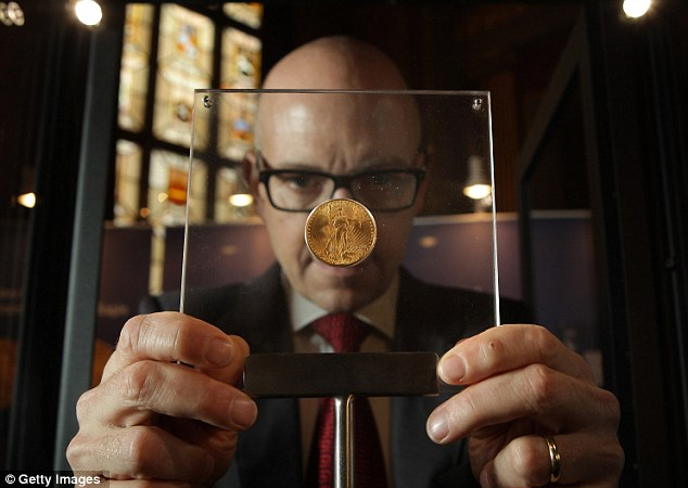 Золотая монета Двуглавый Орел Double Eagle 1 (634x450, 50Kb)