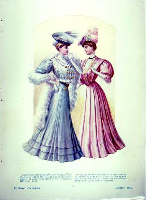 1900-е, модные журналы