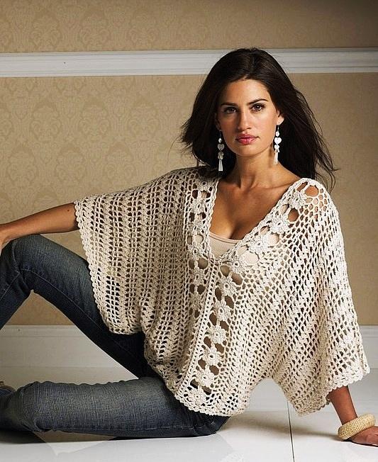 Вязание крючком. Четыре блузы