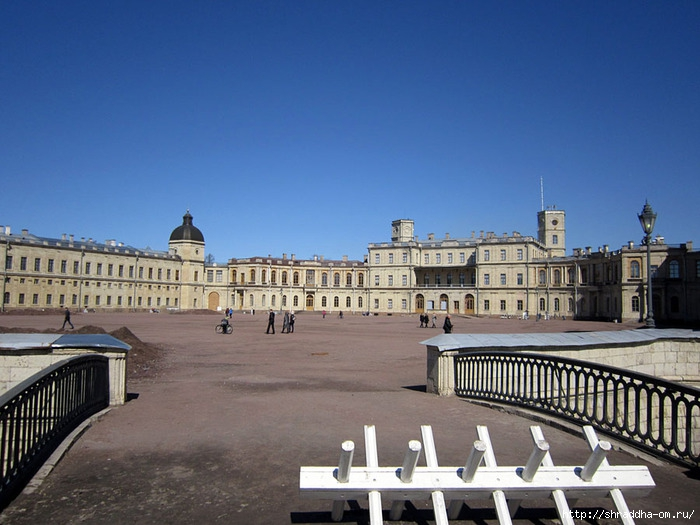 Гатчина, Большой Гатчинский Дворец (1) (700x525, 225Kb)