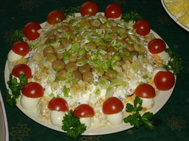 Салат грибной (604x453, 66Kb)