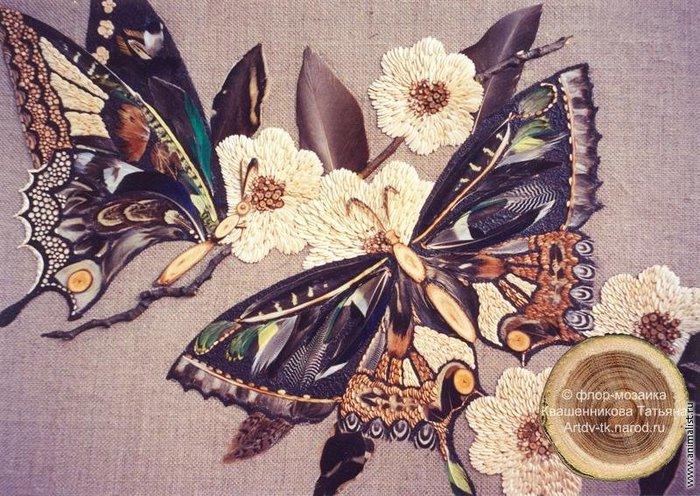 Бабочки; Бабочки Лесная мозаика.