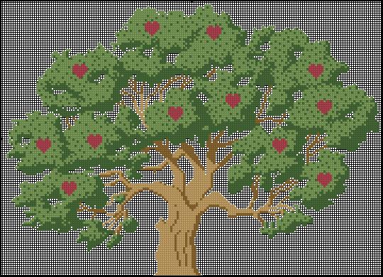 денежное дерево (540x390