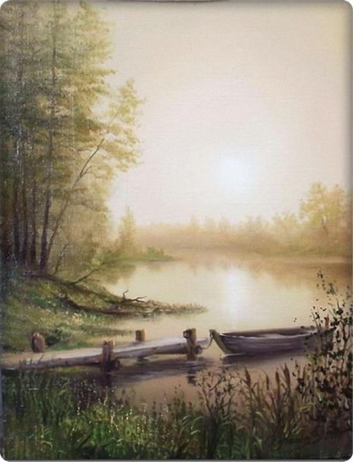 Как нарисовать пейзаж маслом поэтапно
