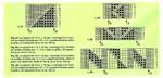 Коллекция ажурных узоров для палантинов из журнала ANNA 04.96.