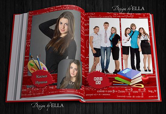 5-Printing photo book for graduates - Formulas (550x378, 260Kb)