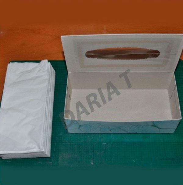 Коробки для салфеток своими руками