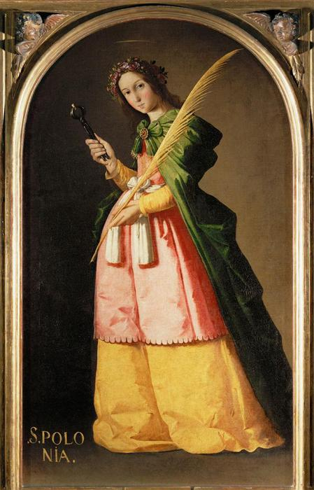 Zurbaran St Apollonia (449x700, 55Kb)