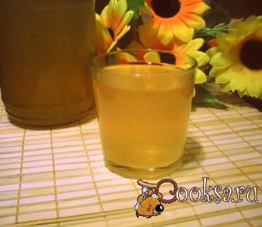 Заготовка яблочного сока без соковыжималки.