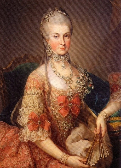 Archduchess Maria Christina of Austria 1742�1798aka Mimi. 1765 (505x700, 315Kb)