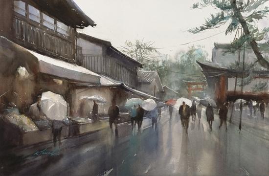 Фусими Инари, Киото, Япония (550x360, 150Kb)