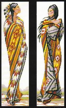 Вышивка крестом, схемы