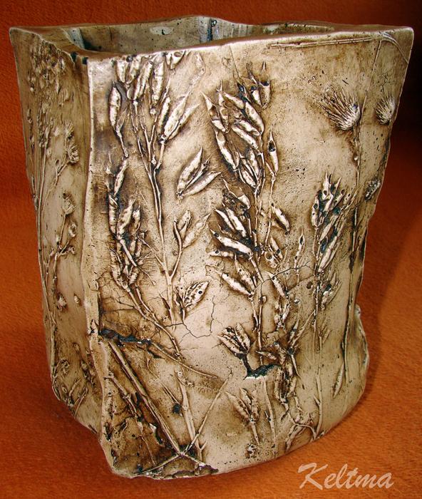 ваза для сада из гипса (13) (592x700, 631Kb)