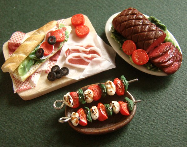 Miniature_Food_Feast_by_PetitPlat (600x471, 70Kb)