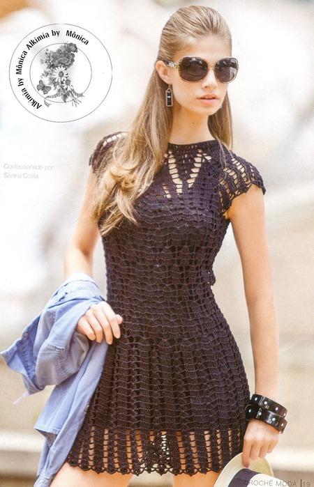 как связать платье | Записи в
