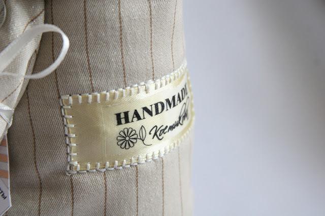Бирка текстильная своими руками 7