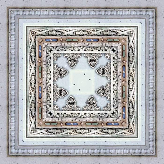 """Оригинал - Схема вышивки  """"Подушка восточные узоры 1 """" - Схемы автора  """"gginn """" - Вышивка крестом."""