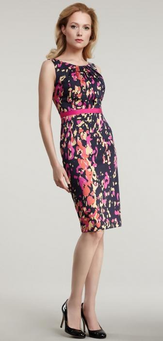 платье для полных в восточном стиле