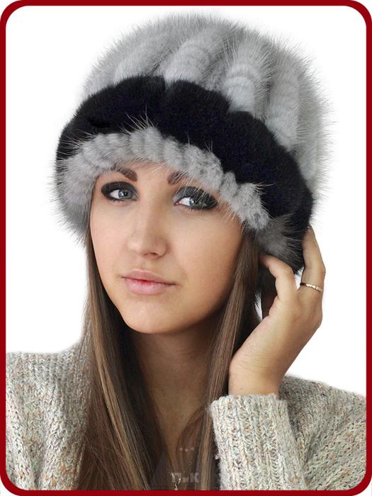 Как украсить норковую шапку своими руками
