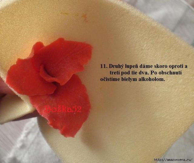 Гладиолусы. Фото мастер-класс по лепке (11) (640x537, 114Kb)