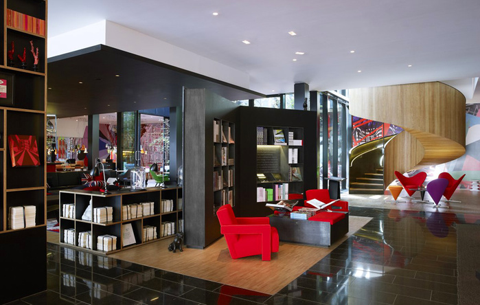 citizenM London Bankside дизайн интерьера фото 8 (700x444, 141Kb)