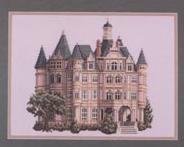 Французский замок. Вышивка крестиком (1) (184x147, 39Kb)