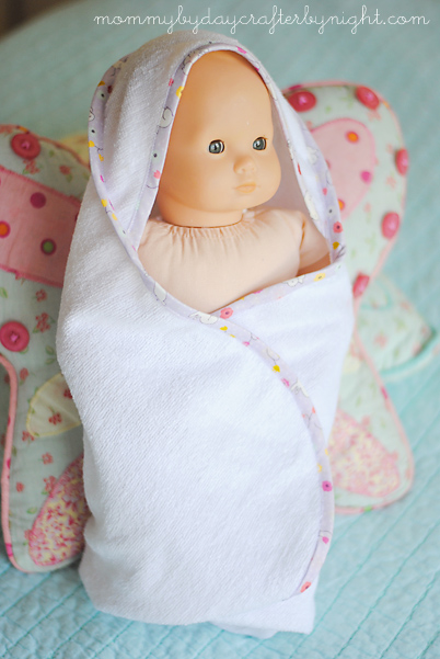 DIY hooded towel for doll (402x601, 129Kb)