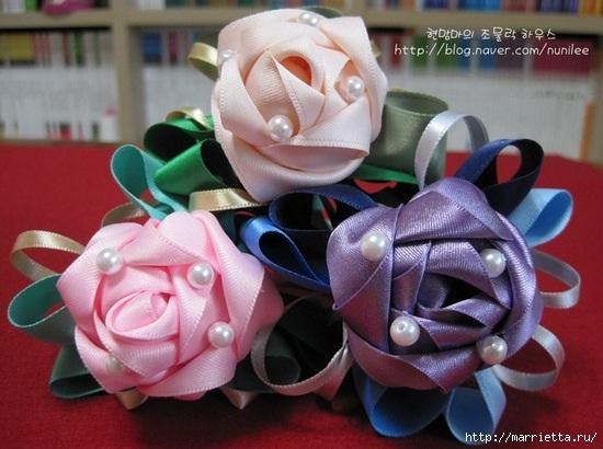 Украшаем шариковую ручку розами из атласной ленты (27) (550x410, 143Kb)