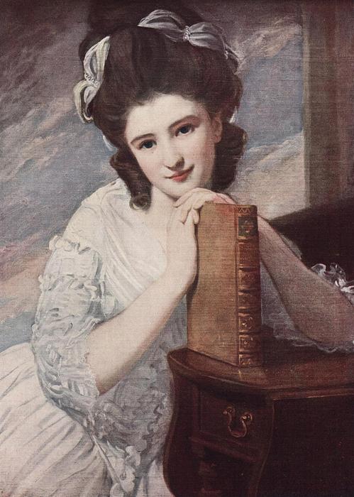 Miss Benedetta Ramus. George Romney (British, 1734 - 1802). (499x700, 283Kb)