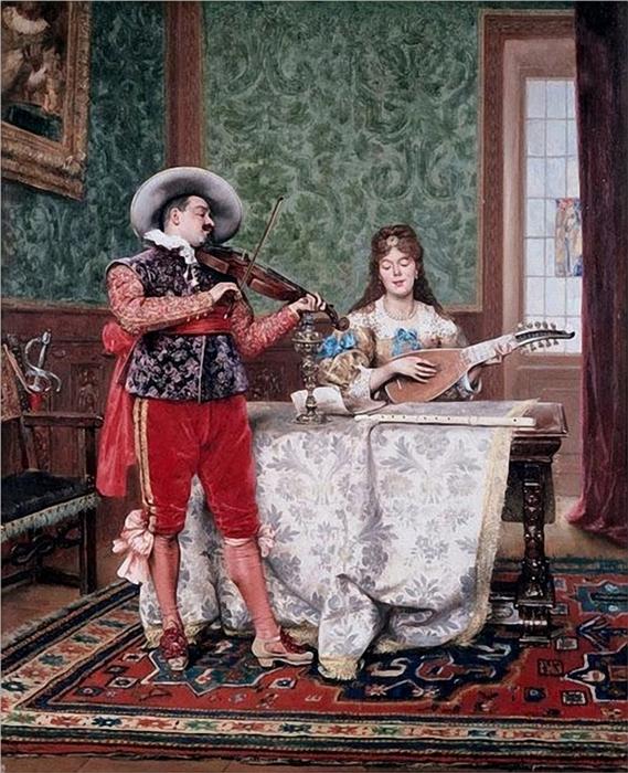 06-lesrel-adolphe-alexandre-the-duet-1888_thumb (569x700, 343Kb)
