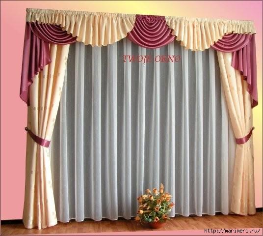 Как сшить красивые шторы своими руками фото
