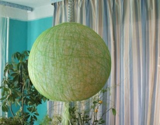 Китайский абажур из шарика и кулинарной бумаги (7) (319x250, 24Kb)