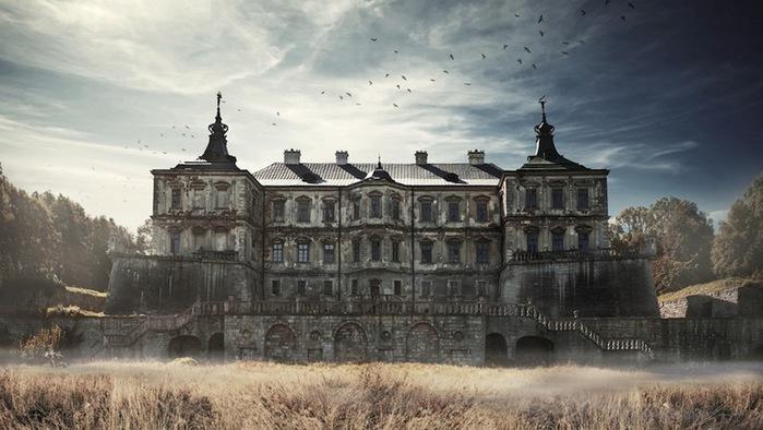 Подгорецкий замок, Украина (700x394, 92Kb)