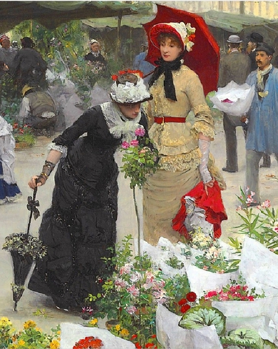Victor_Gabriel_Gilbert_French_18471933_Le_march_233_des_fleurs_1880_detal (557x700, 350Kb)