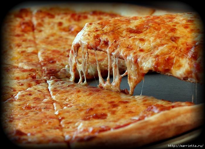 Вкуснейшая пицца на белом соусе (8) (700x508, 229Kb)