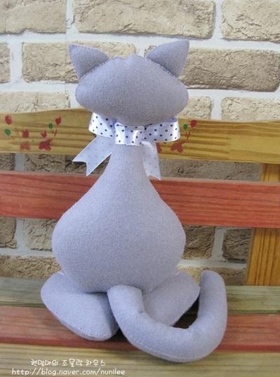 Кот из фетра мастер класс