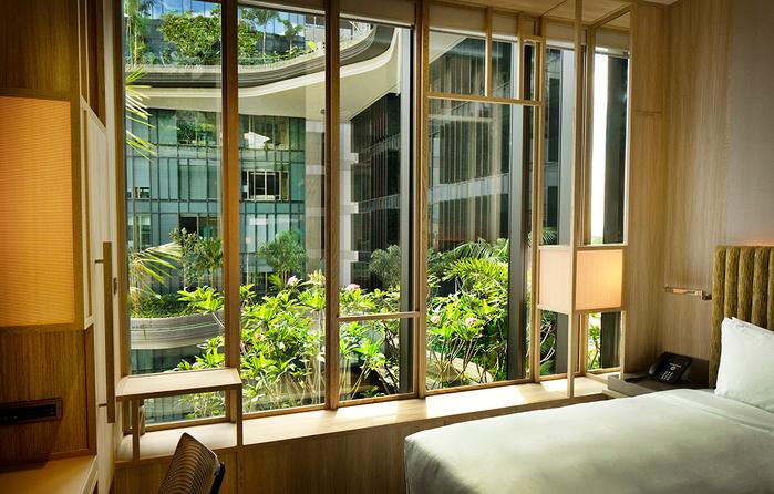 отель  Parkroyal Сингапур 12 (700x446, 207Kb)
