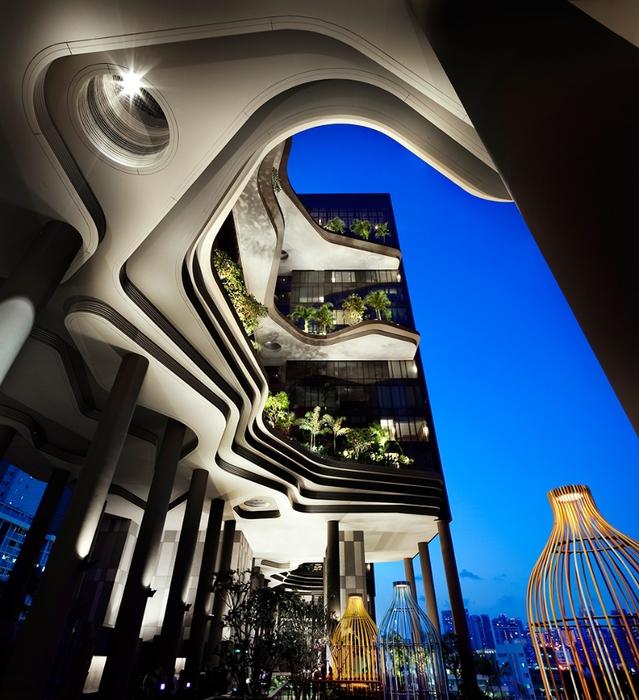 отель  Parkroyal Сингапур 15 (639x700, 320Kb)